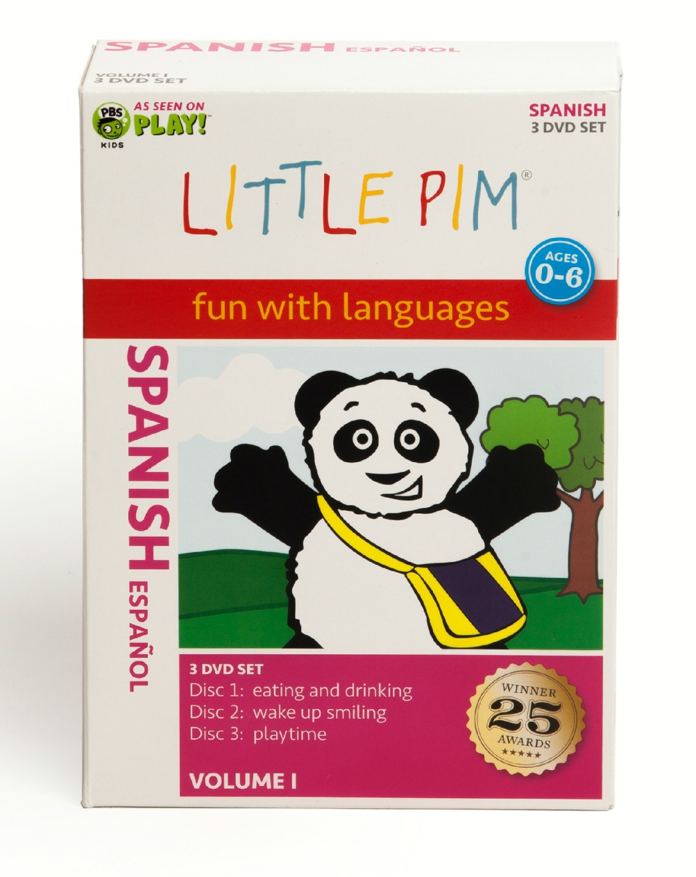Little Pim Spanish Box Set Vol. I