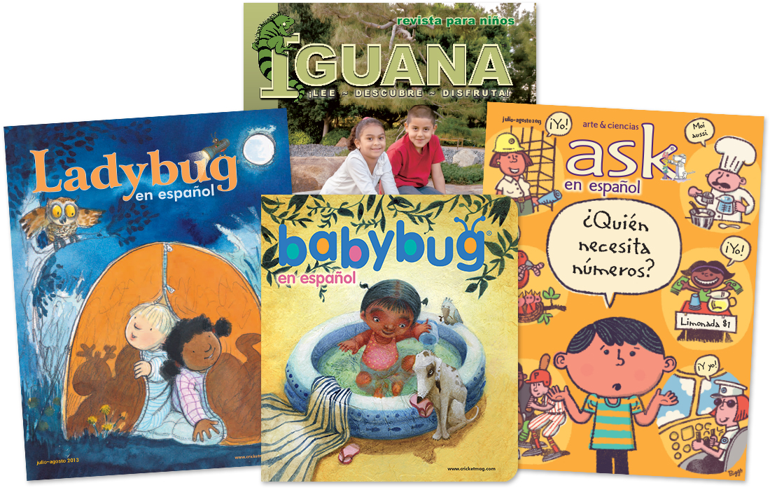 Cricket Magazine - Spanish - Hispanic Heritage Month Blog Hop