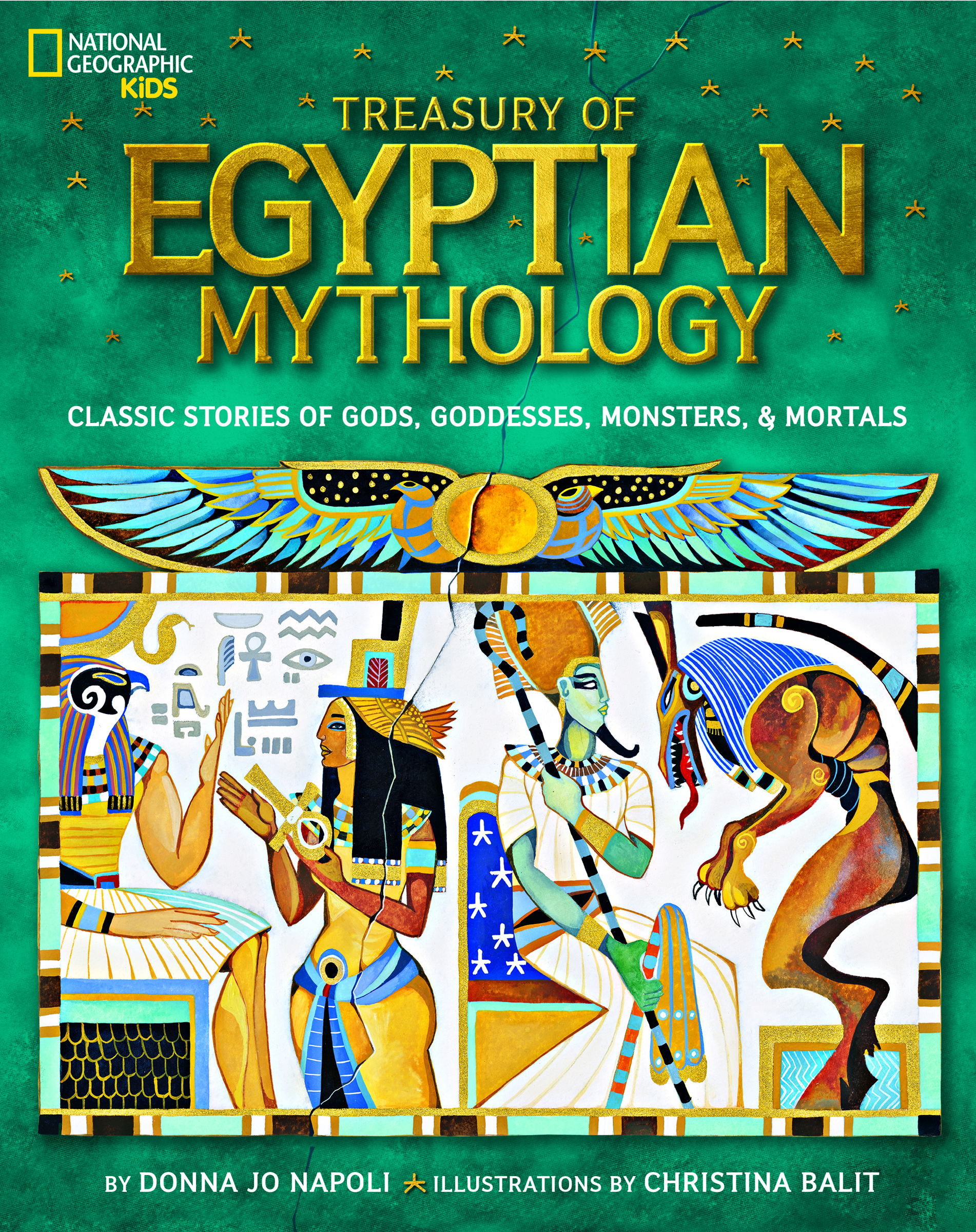 National Geographic Kids - Egyptian Mythology - MKB Birthday Party Giveaway