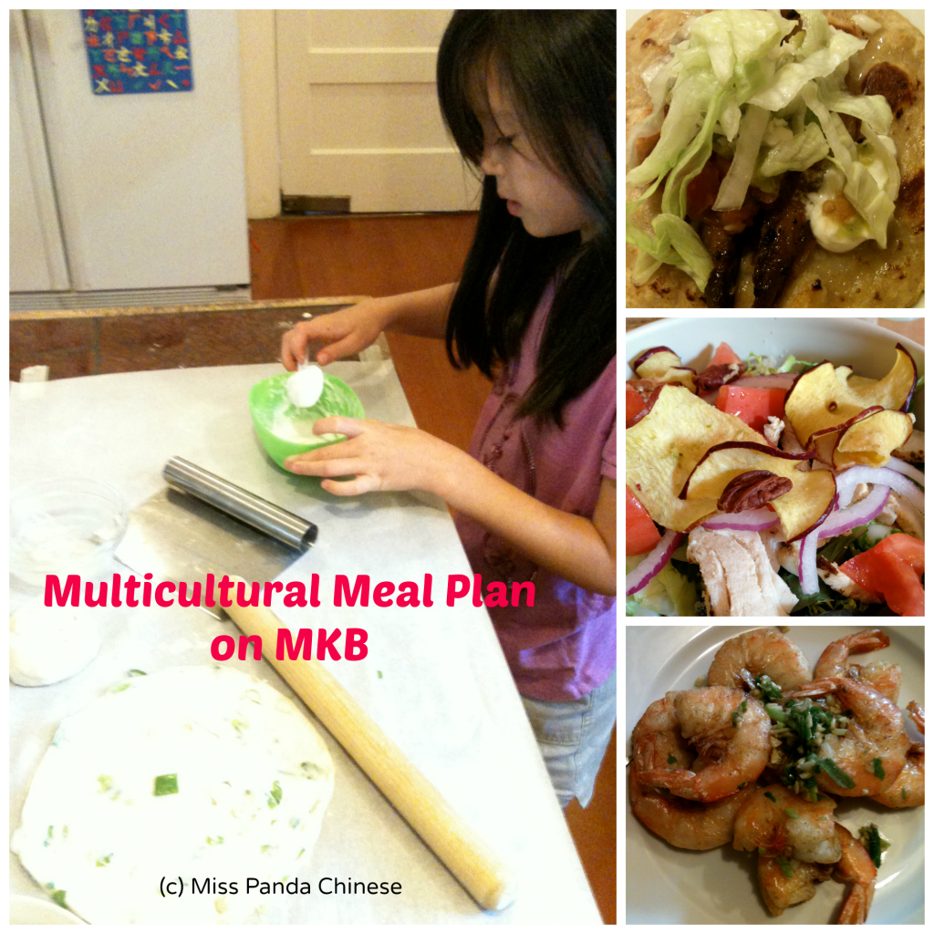 Mix and Match!  Enjoy Chinese Green Onion Cakes Anytime!  {Multicultural Meal Plan Mondays}