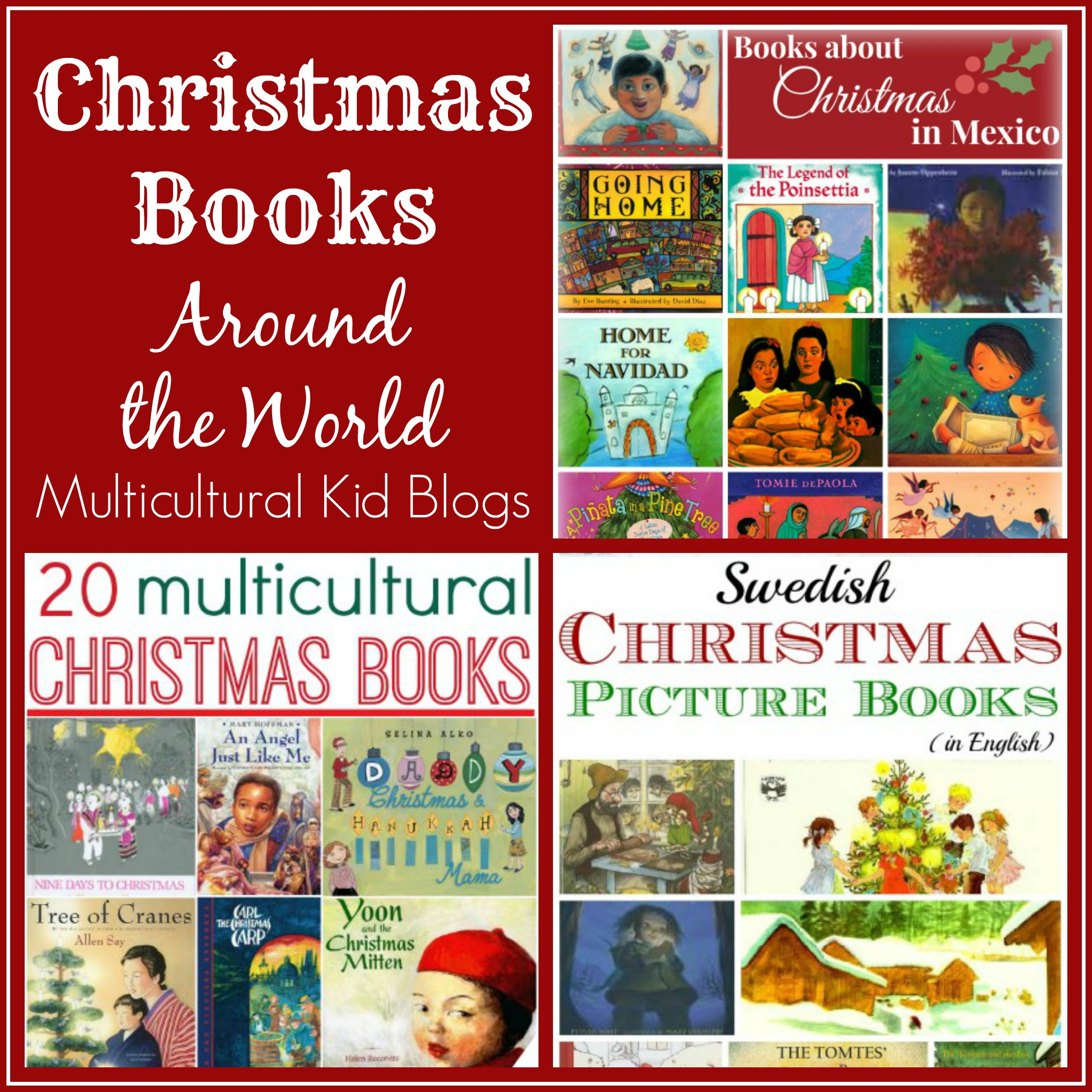 Christmas Books Around the World - Kid World Citizen on Multicultural ...