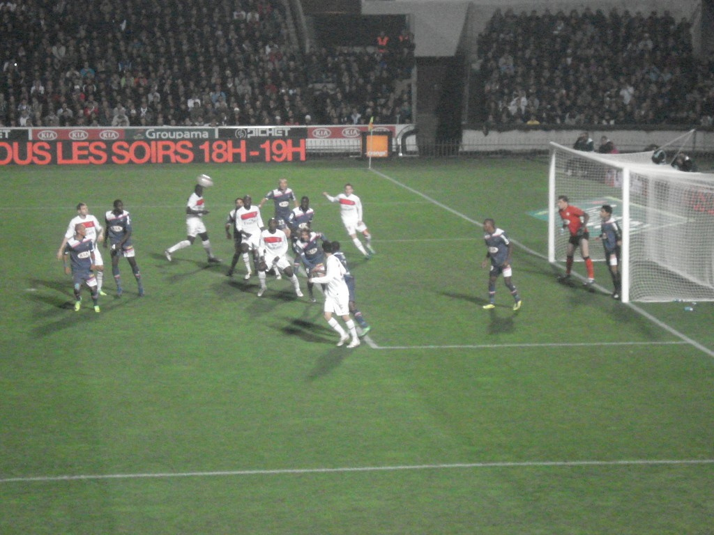 World cup Bordeaux v PSG, France, November 2011