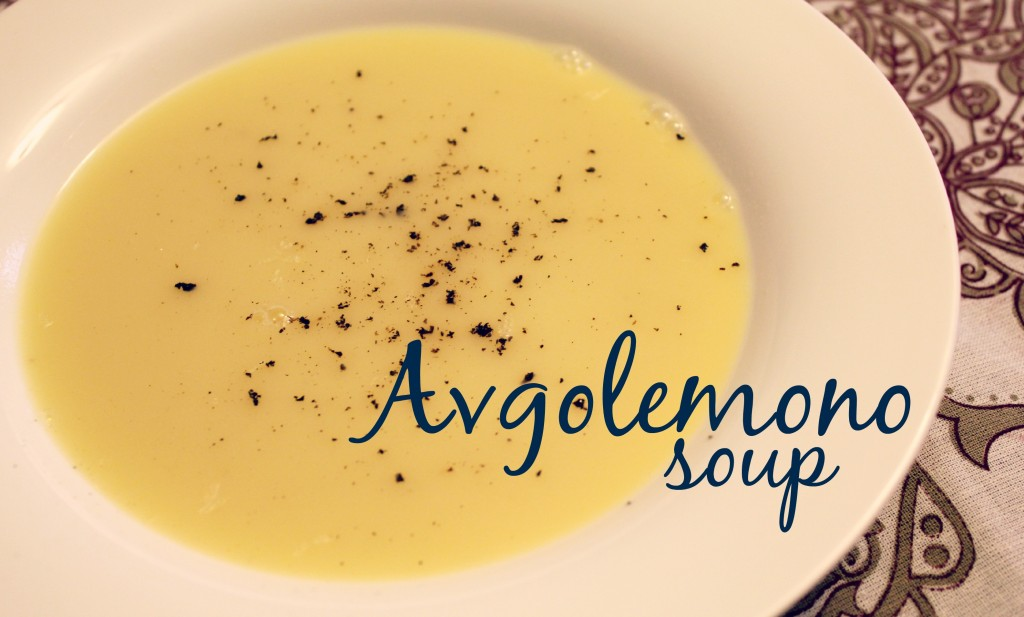 avgolemono soup label