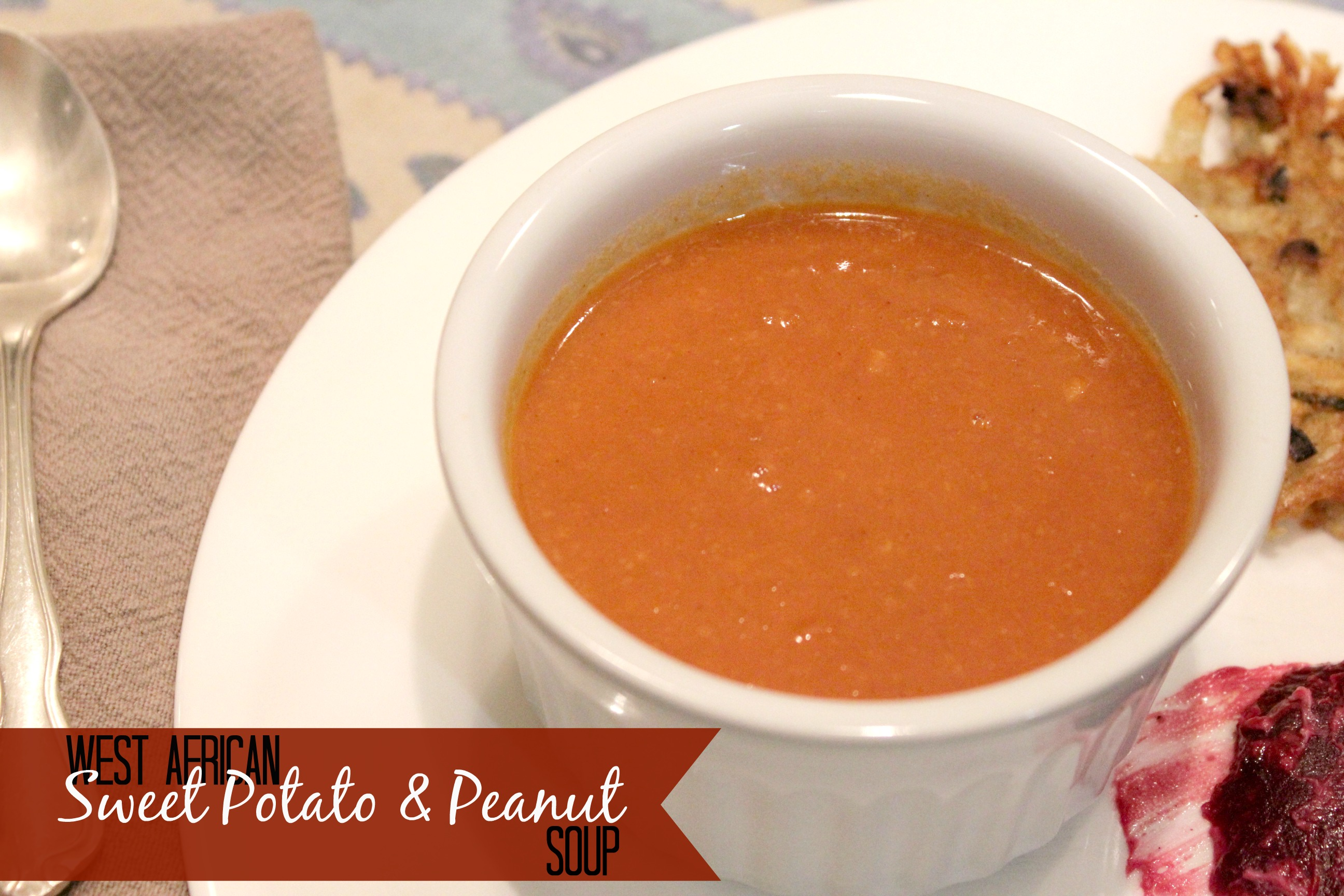Sweet Potato And Peanut Soup Recipe — Dishmaps