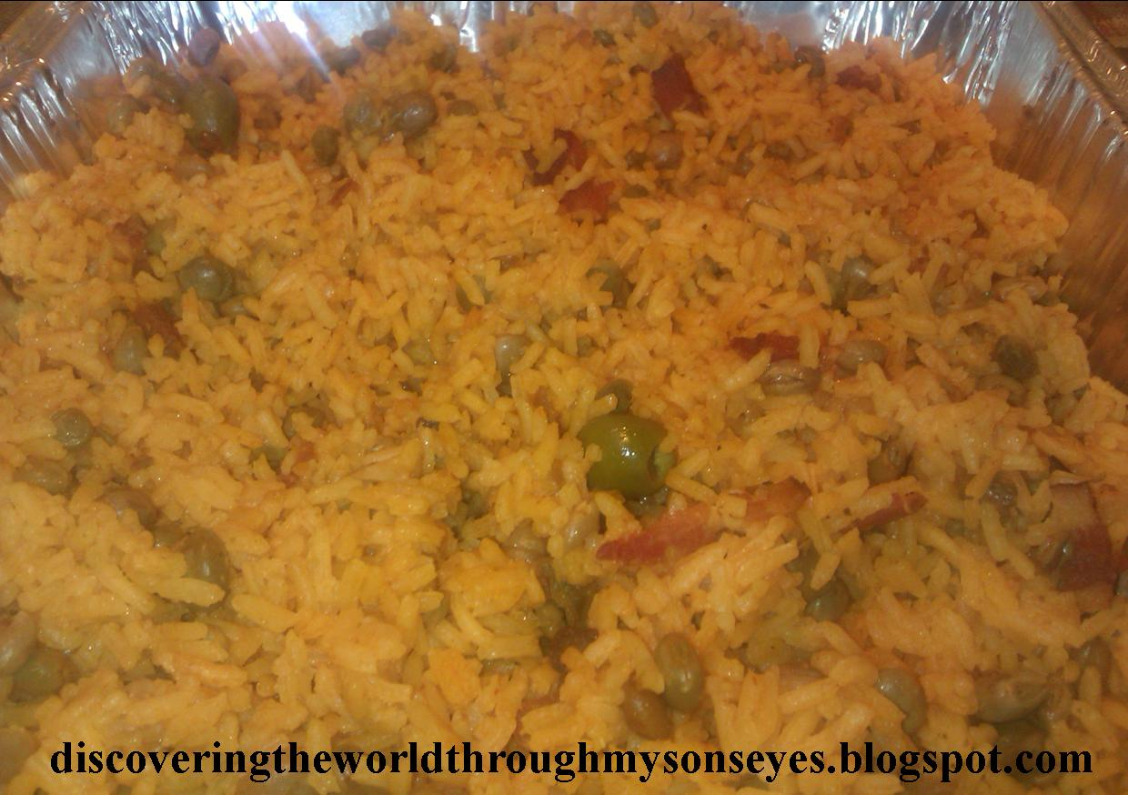 ... Flickr Creative Commons Arroz con gandules (Rice with pigeon peas