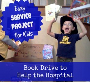 Book Drive to Help the Hospital - Pennies of Time