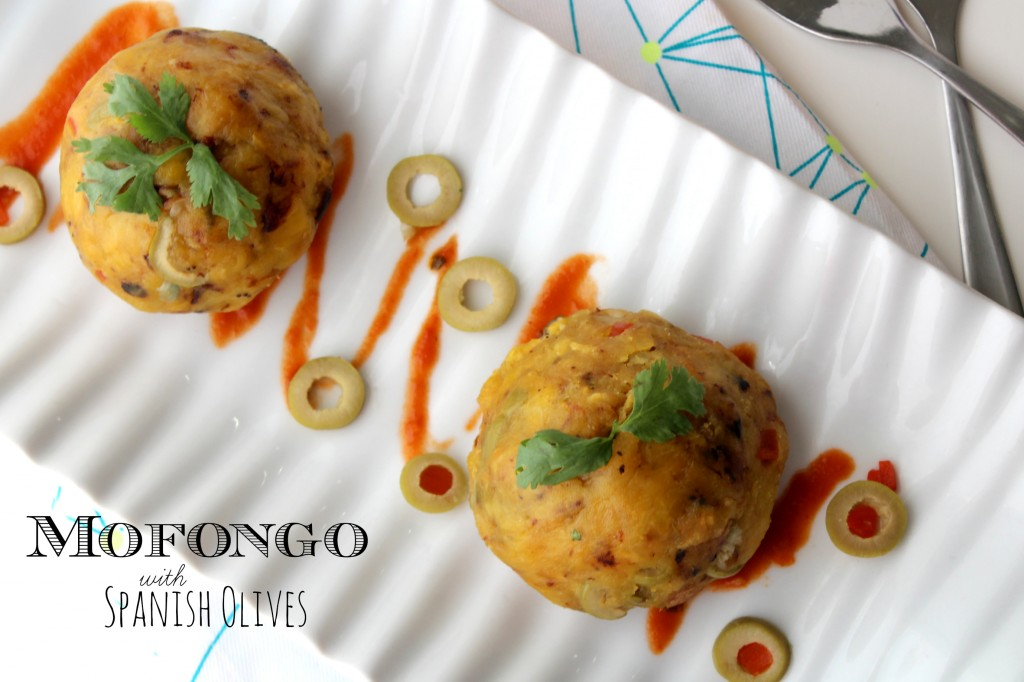 Mofongo with Spanish Olives