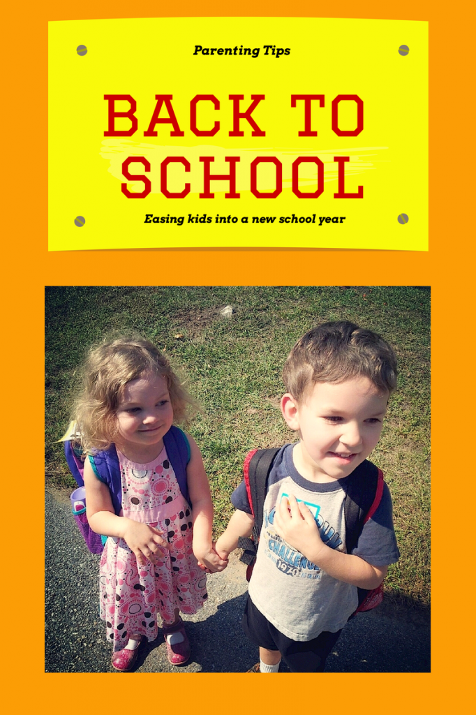 Back to school: easing kids into a new school year