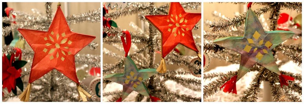 Parol ornament Collage