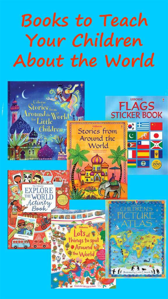 books that teach kids about the world.