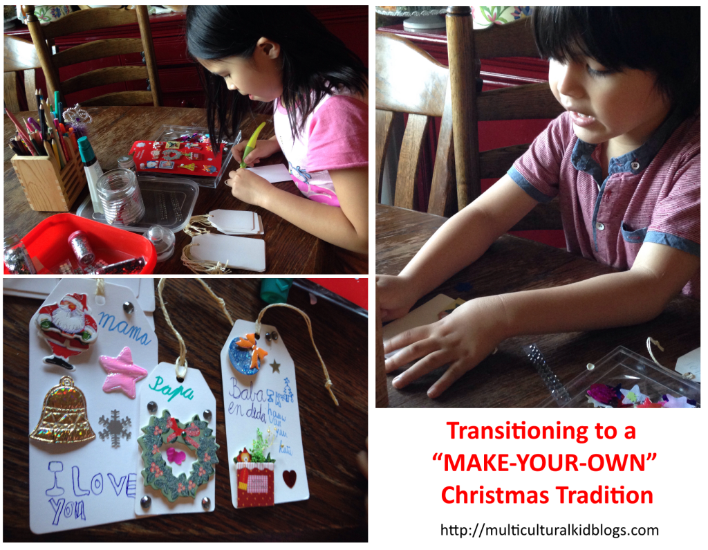 transitioning to a make your own christmas tradition