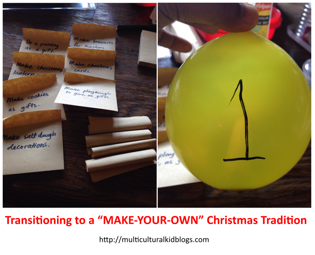 transitioning to a make your own christmas tradition2