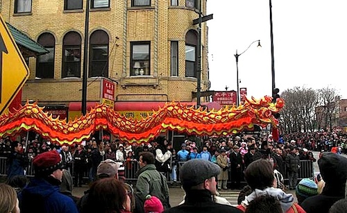 Chinese New year Dragon Dance Parade- Kid World Citizen