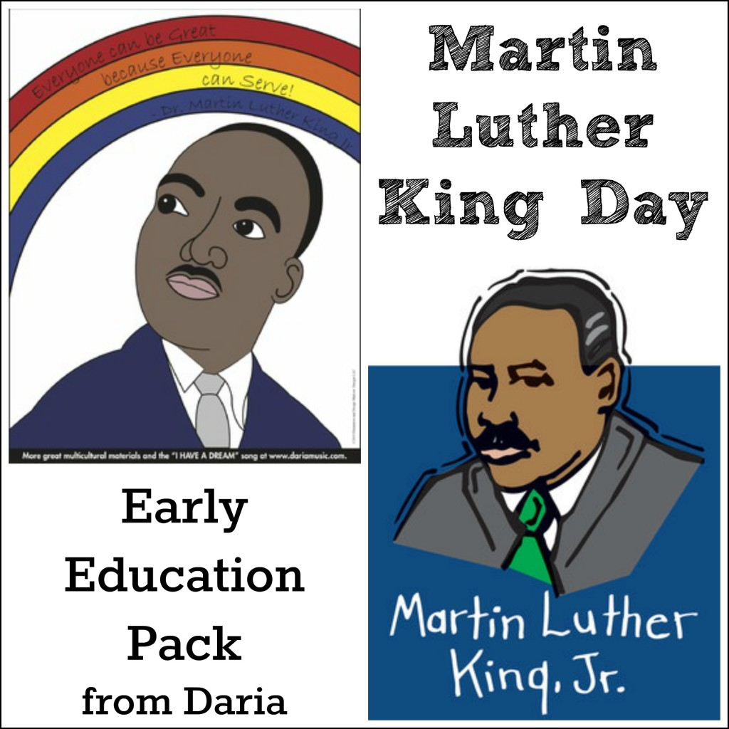 Call for Bloggers: Martin Luther King Day Early Education Pack