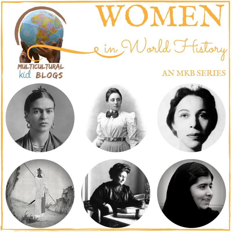 Women's History Month Series on Multicultural Kid Blogs