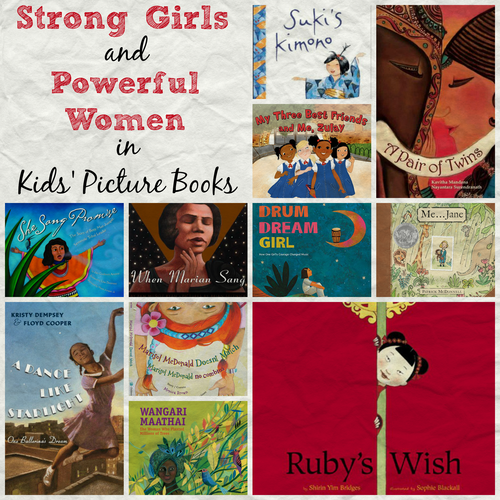 Women's History Month: Strong Girls in Kids' Books - Multicultural Kid Blogs