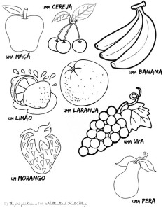 Portuguese Fruit Printables | MulticulturalKidBlogs.com