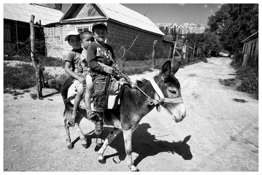 Kids in Kyrgyzstan