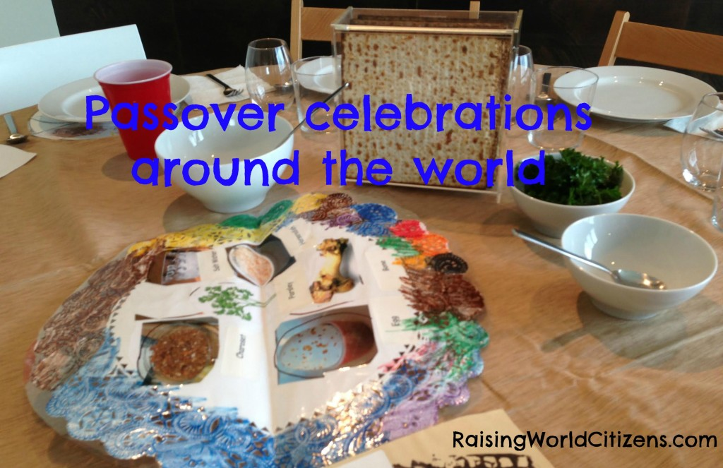 Passover celebrations around the world