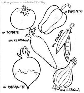 Portuguese Vegetable Printables | MulticulturalKidBlogs.com