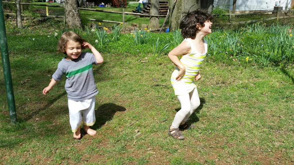Taking Learning Outside with Language Games