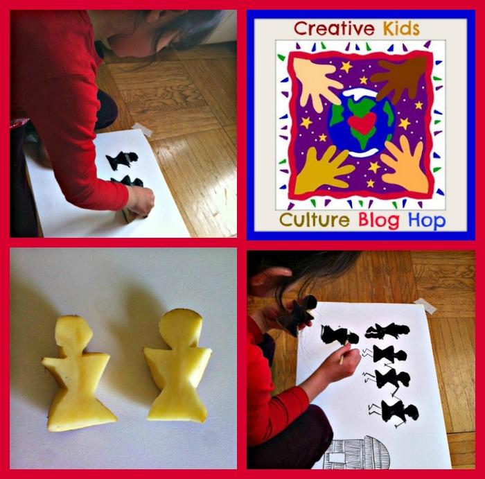 Creative Kids Culture Blog Hop Warli Painting