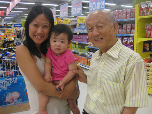 The importance of visiting grandparents overseas