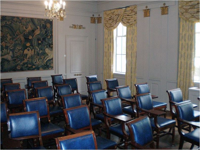 The French Nationality Room at the University of Pittsburgh. Photo credit: Wikimedia Commons