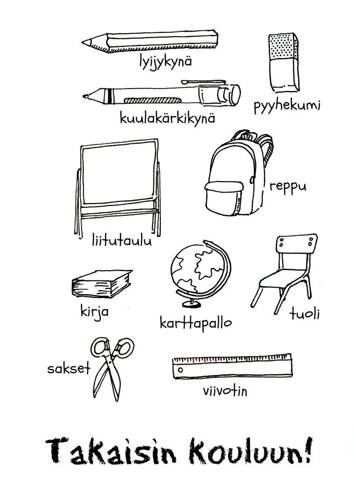 Backtoschool Finnish