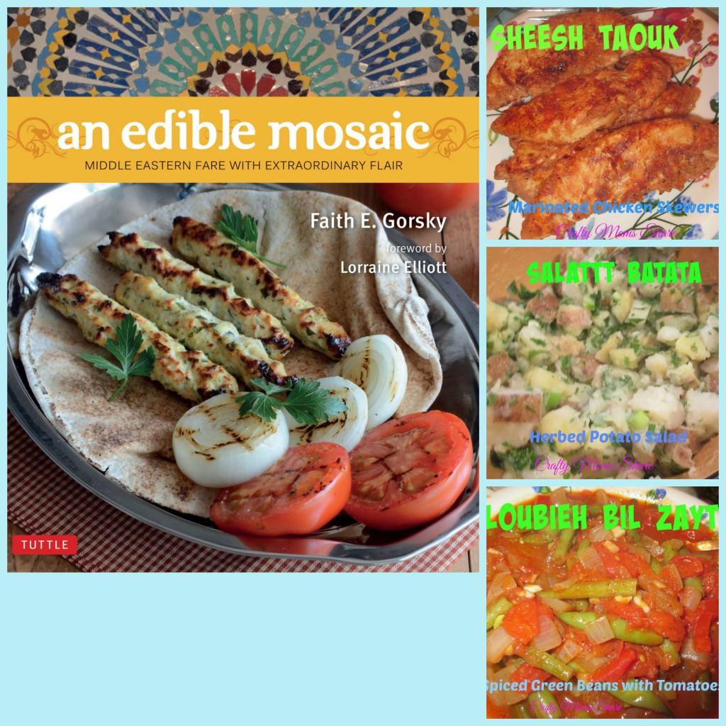 Edible mosaic Collage
