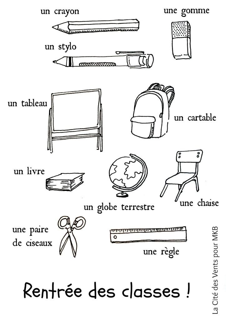 backtoschool French