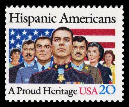 Hispanic Americans stamp
