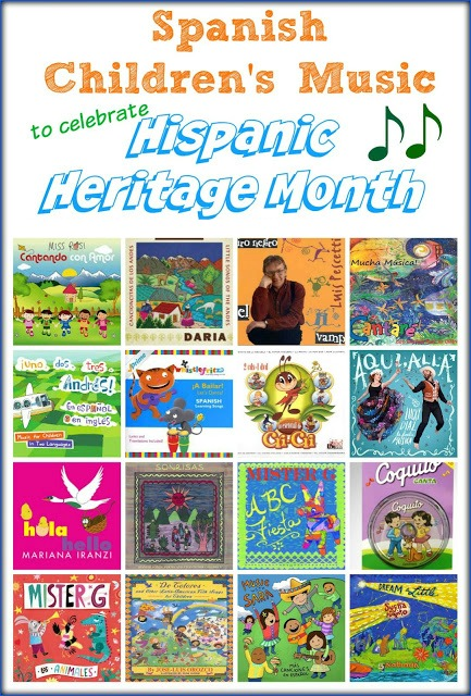 Spanish Songs for Kids to Celebrate Hispanic Heritage Month