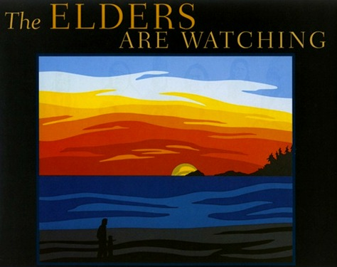 The Elders Are Watching share the message of Native American Cultures to protect the earth.