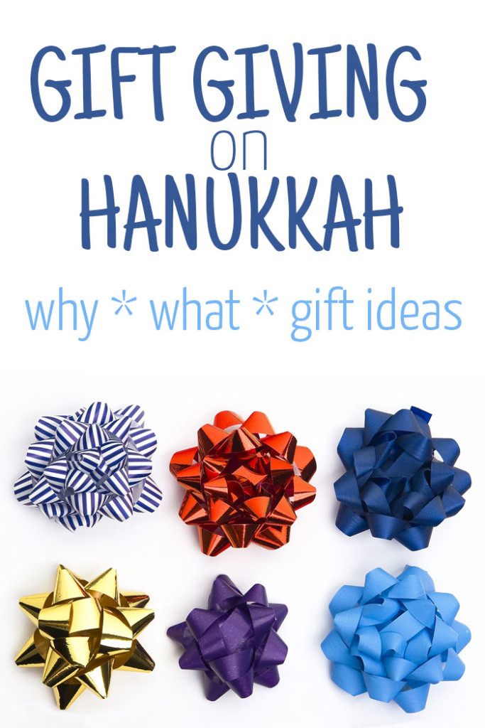 Gift Giving on Hanukkah