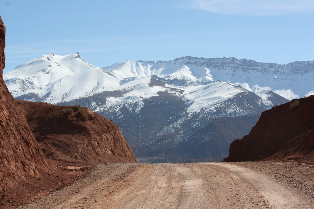 Snowy Mountains in Morocco
