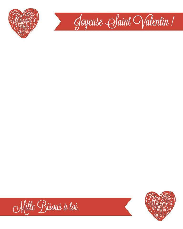 French Valentines Day Love Letter 1