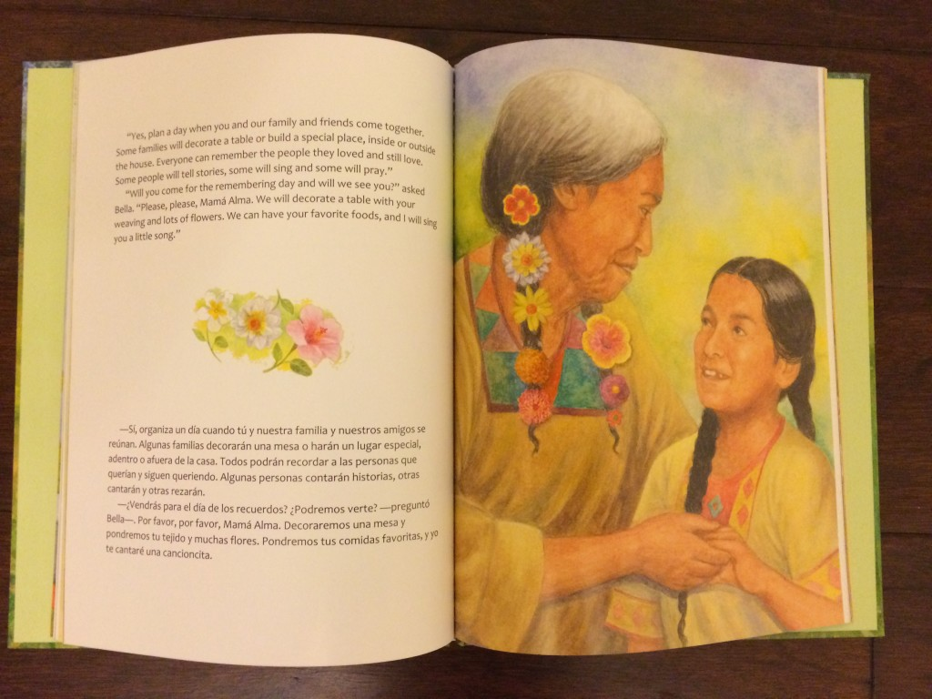 Multicultural Children's Book Day Book Review: 'The Remembering Day/ El Día de los Muertos'