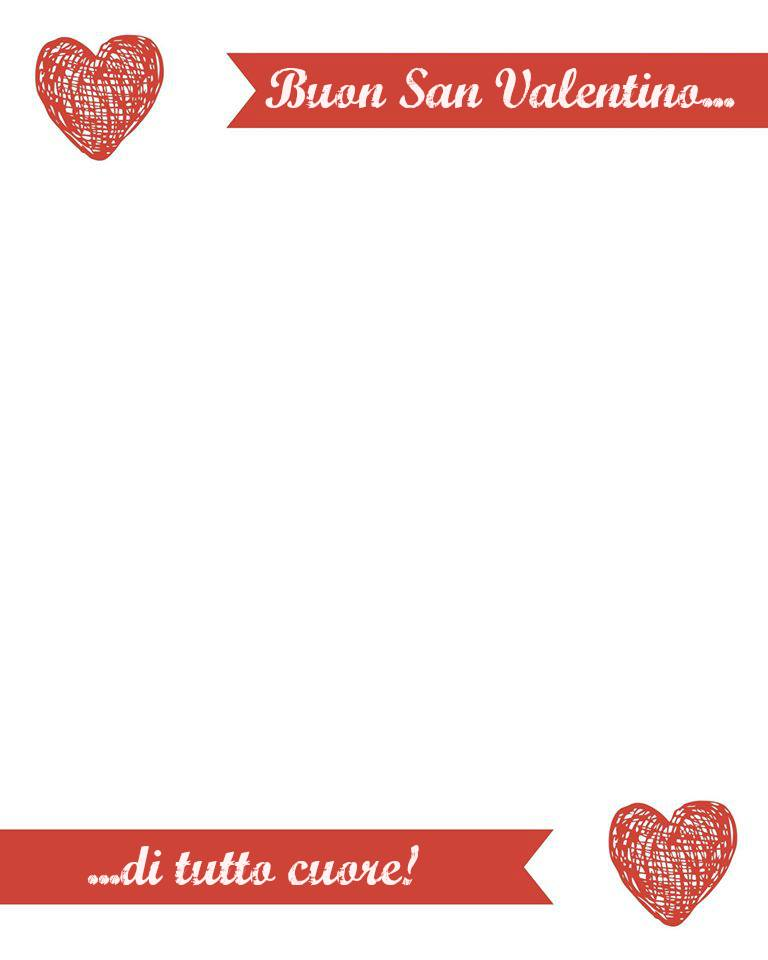 Italian ValentinesDay Love Letter