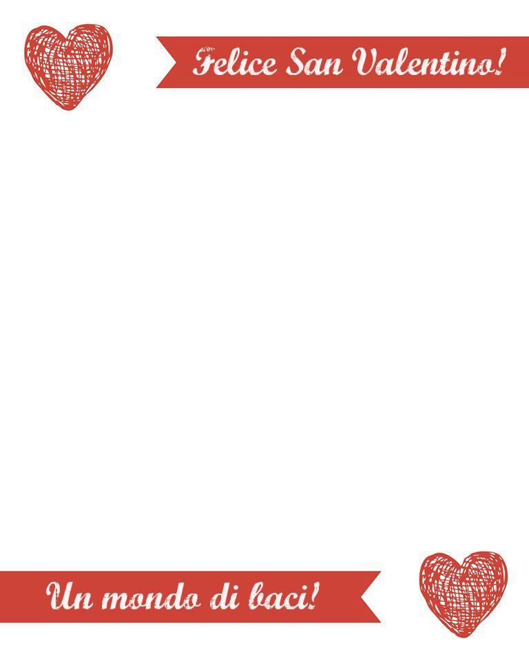 Italian ValentinesDay Love Letter 2