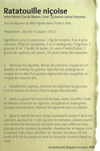 Ratatouille french