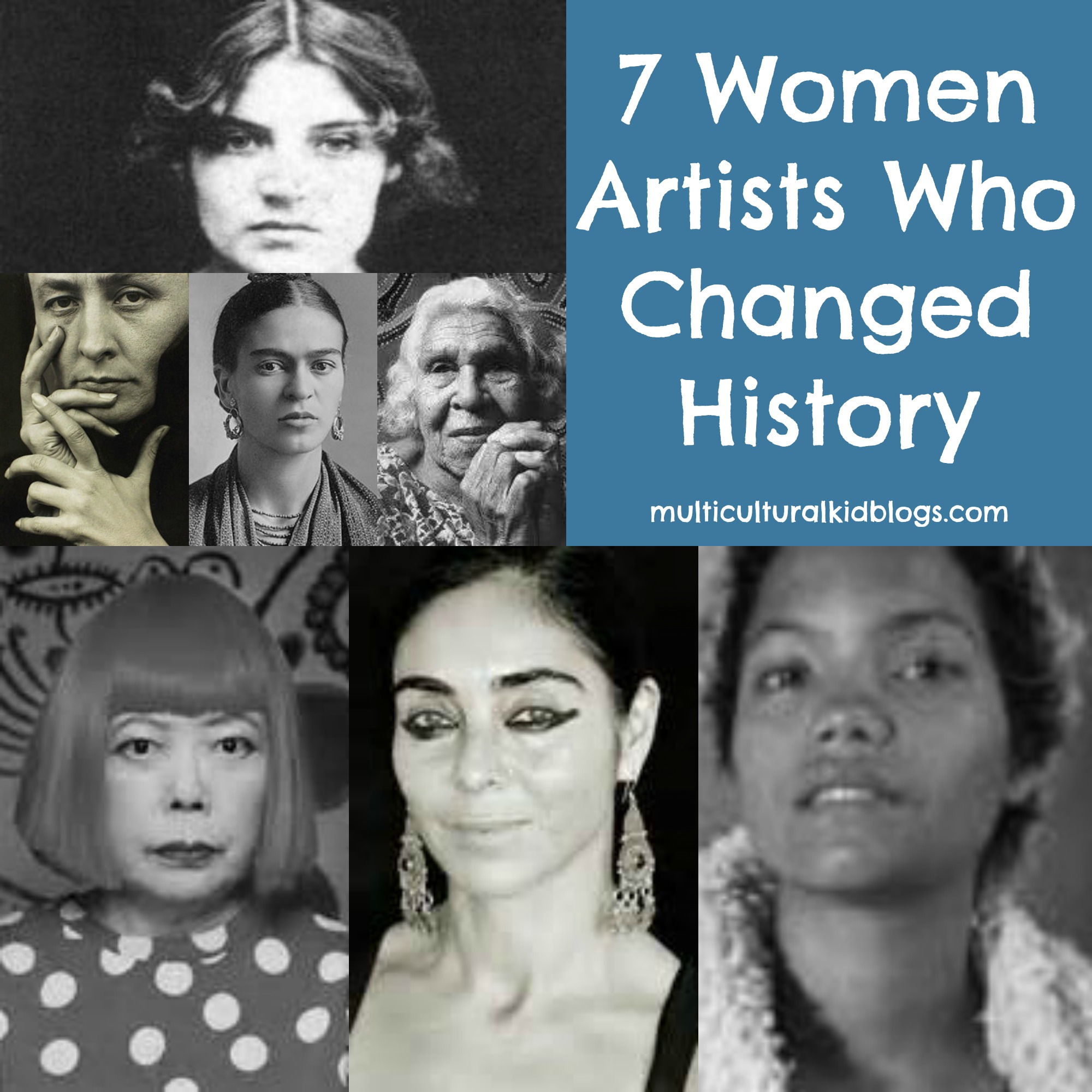 These women artists from around the world had a significant impact on the art world.
