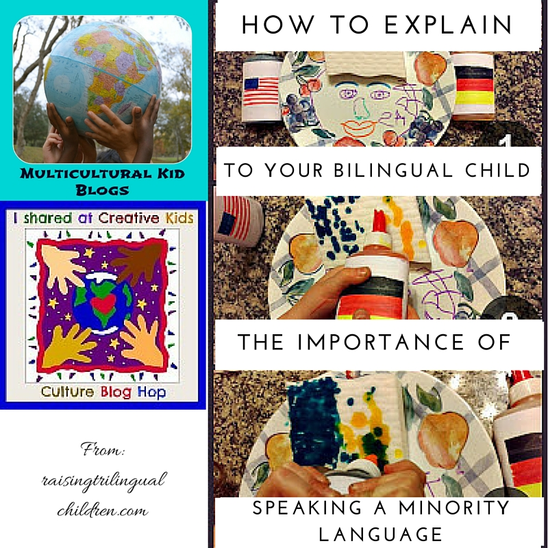 Creative Kids Culture Blog Hop #38: Explaining the Importance of Speaking a Minority Language