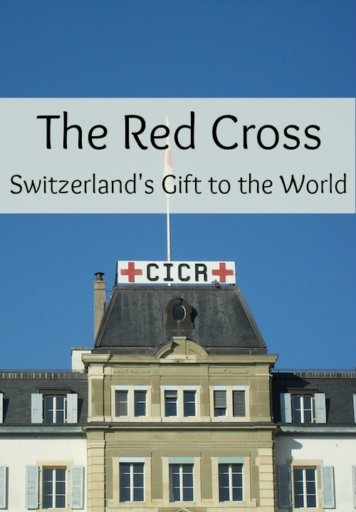 The Red Cross was founded in Switzerland.