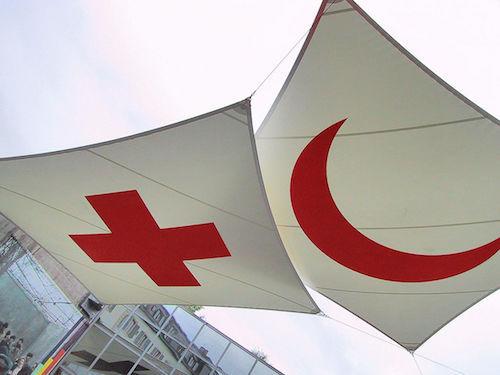 red cross symbols