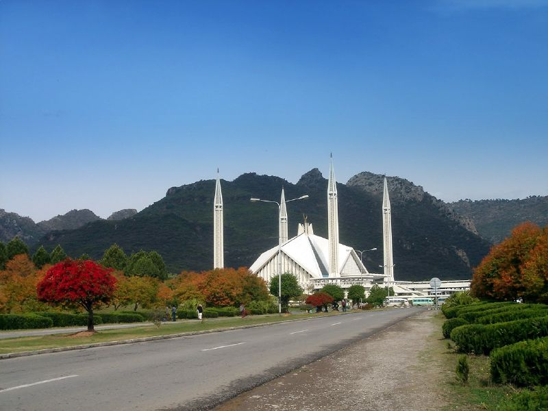 Faisal Mosque, the largest mosque in South Asia. Around Pakistan in 10 Fun Facts
