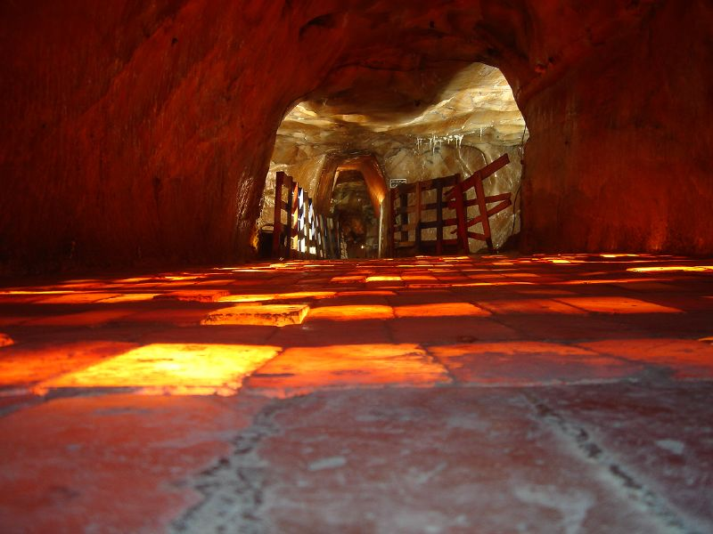 Khewra Salt Mines in Pakistan are the second largest in the world, Around Pakistan in 10 Fun Facts