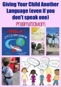 gIVING YOUR CHILD ANOTHER LANGUAGE