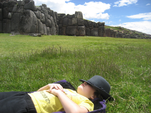 Sacsayhuaman in the Andes of Peru