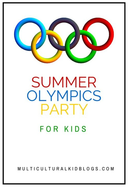 Summer Olympics Kids Party Ideas